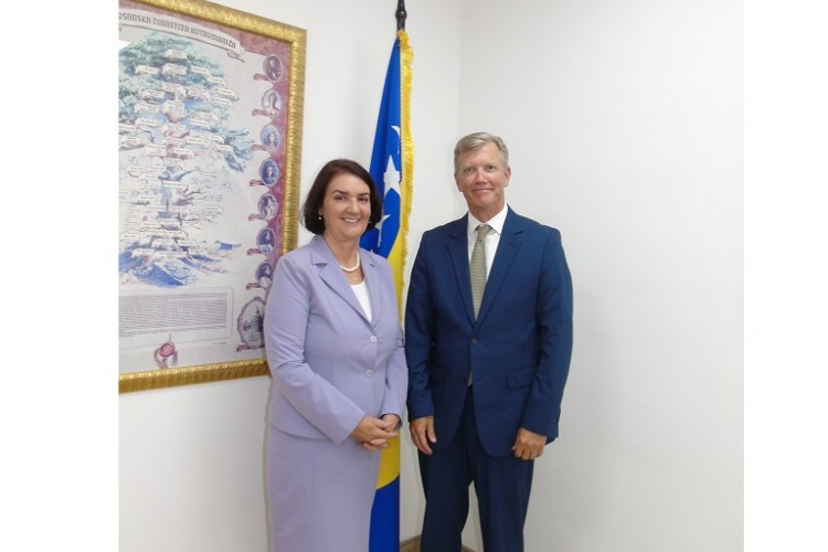 CHIEF PROSECUTOR MEETS WITH HEAD OF OSCE MISSION TO BOSNIA AND HERZEGOVINA