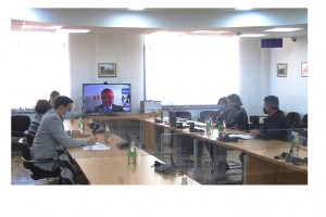 CHIEF PROSECUTOR HOLDS A MEETING WITH IRMCT OTP OFFICIALS